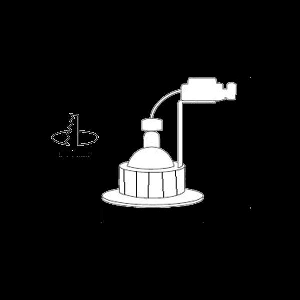 Schema-Kit-LED-Calypso, Aerospot, spot encastré BBC RT2012