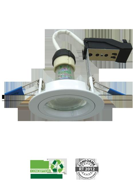 kit-led - Spot encastré LED IP65 BBC RT2012