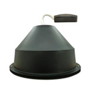 CAP GU10 - CAP CR – Capot Universel pour Spots encastrés sous isolant conforme RT2012 et conforme CPT 3693 du CSTB