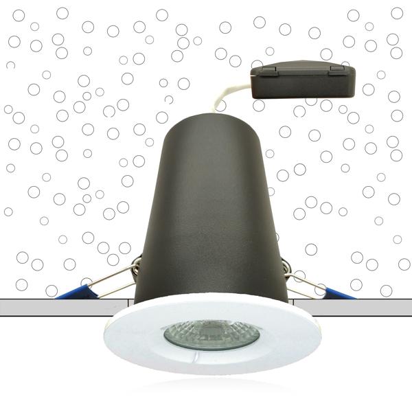 Système MBF Pro - spot encastré sous isolant conforme RT 2012 et CPT3693