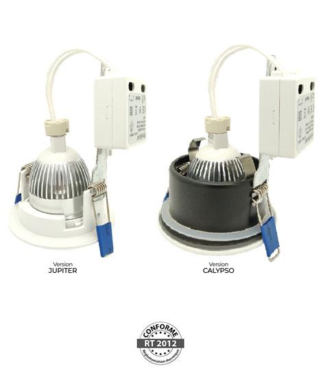 AeroSpot® - Solutions pour Spots LED Salle d'eau IP65 RT2012 / BBC