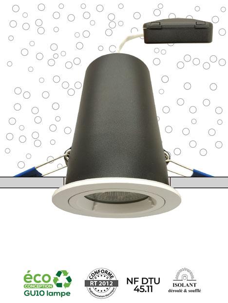 Système MBF NF - Spot conforme NF DTU 45.11 et conforme RT2012 - AeroSpot®